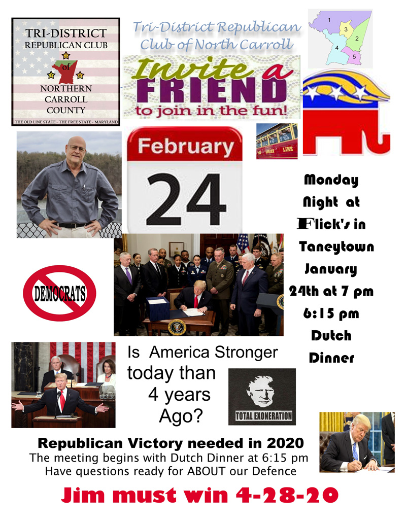 Feb 24th With Jim Simpson For Congress MD 2nd District 2020