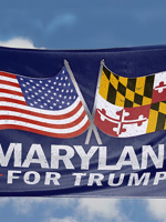 Maryland for Trump Flag