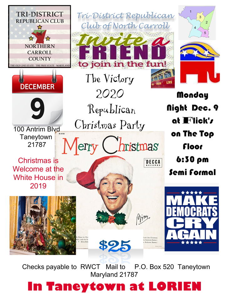 The Christmas Party, Tri-District Republican Club of MD