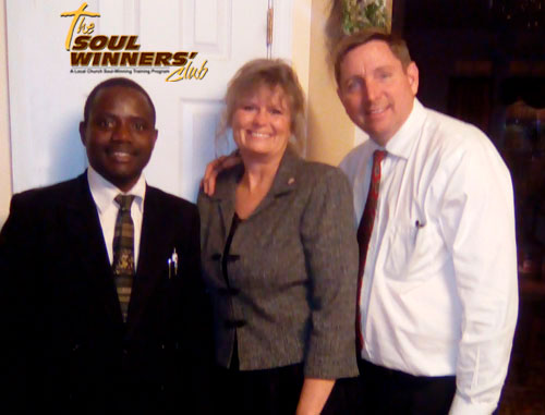Pastors Elton and Frazier with Robin Frazier
