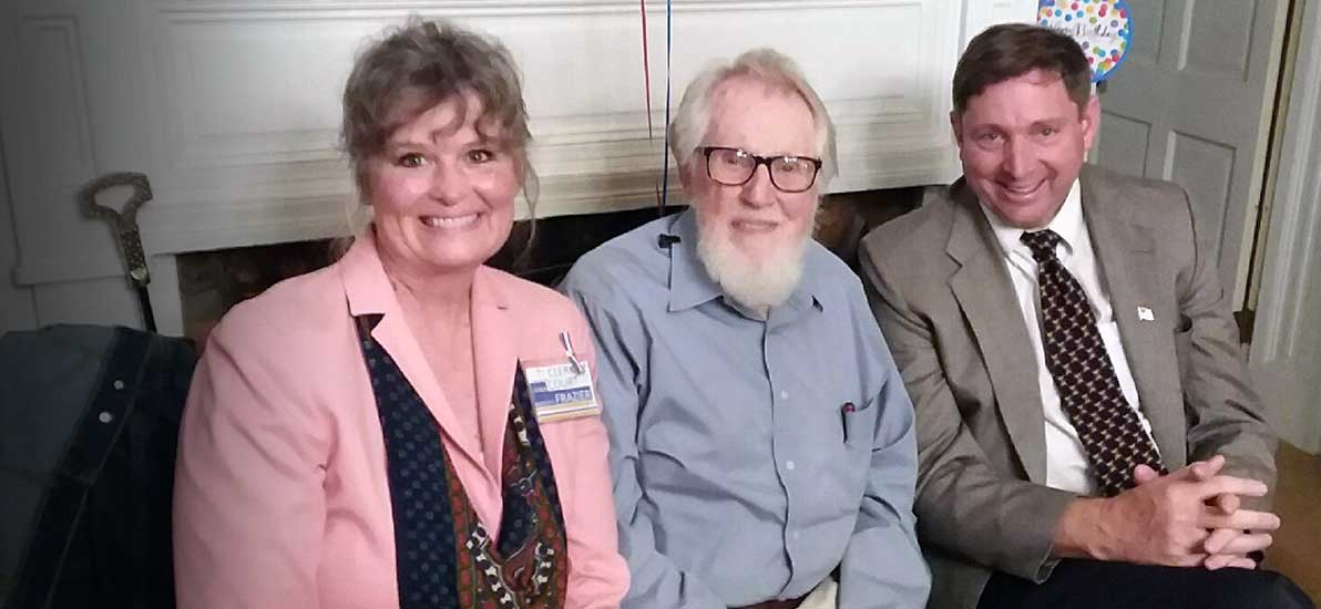 Roscoe Bartlett and Don and Robin